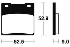 Plaquettes de frein Bendix MR56 Métal fritté.pour KAWASAKI