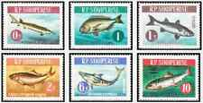 Timbres Poissons Albanie 671/6 ** lot 15709