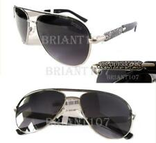 New GUESS GF0287 Silver-Black/Purple Womens Sunglasses $75