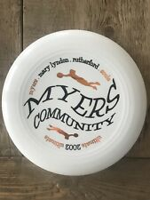 Discraft Disc University Of Georgia Myers Community Ultimate Frisbee 2002