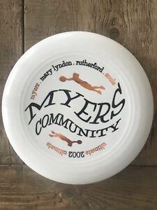 Discraft Disc University Of Georgia Myers Community Ultimate Frisbee 2002