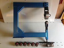 ENGLISH WHEEL ENGLISH WHEELING MACHINE RADIANT ROLLERS ANVILS 350 X 380 THROAT