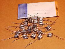20 RARE NEW NOS Siemens Polystyrene - Styroflex 628pf 630v 0,5% capacitors