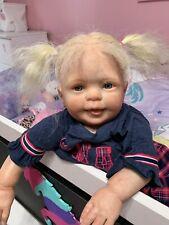 Ooak Reborn newborn baby Girl  reborn baby  Shawna       Art doll