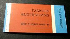 Australia Stamp Scott# 450-453 Famous Australians 1969 Mnh Complete Bklt. H47