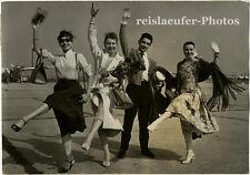 """Colette Marchand und """"Les Griffes"""", Original-Photo von 1957"""
