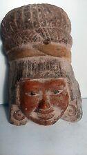 terracota mask. masque  south America