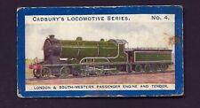 CADBURY - LOCOMOTIVE SERIES - #4 LONDON & SOUTH WESTERN PASSENGER ENGINE