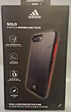 Adidas SOLO Dual Layer Protective Case for Apple iPhone 6/ 6S/ 8 / 7 Plus Black
