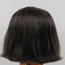 Blythe Doll RBL Scalp & Dome Dark Brown Short Hair With Bangs R031