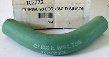 "New Chase Walton Silicone Elbow Hose Engine Coolant Heater 3/4"" x 90 Degree H2O"
