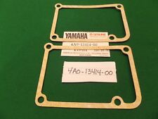 TWO YAMAHA TZ 500 G H J SUMP COVER GASKETS (NOT TZ 350) 4A0-13414-00