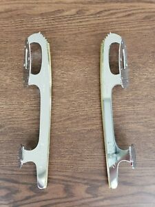 "Vintage Unsharpened Ice Skating Blades - MK Silver Test (SIZE 8 3/4"")"