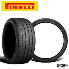 2 X New Pirelli Pzero 24540r20 99y Summer Sports Performance Traction Tires Fits 24540r20