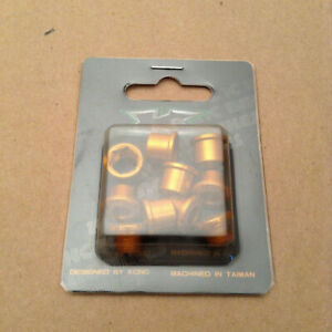 KCNC 7075AL Gold Chainring bolt set of 5