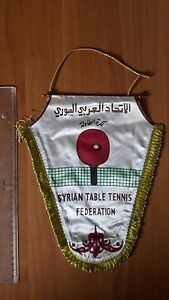 PENNANT - SYRIA TABLE TENNIS FEDERATION association - ISLAM