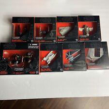 Star Wars Titanium Diecast The Black Series Hasbro Lot Of 8 NIB Collectors