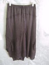 ARIA Lindi Collection Black Skirt Asymetrical Hem Size XS NWT Lined