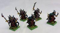 Warhammer Fantasy Dark Elf  Corsairs metal  painted table ready army lot oop