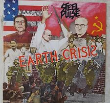 "Steel Pulse: Earth Crisis LP - Elektra 1984 12"" x 12"" Promotional Album Flat"