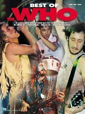 NEW Artist Songbooks: Best of the Who (2001, Paperback) book