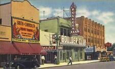 Photo. 1935. Las Vegas, Nevada.  View - Fremont Street