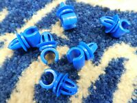 FORD CORTINA MK3 MK4 MK5  FUEL PIPE CLIPS BLUE X 6 FOR 5/16TH PIPE