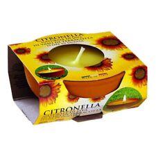 Prices Citronella Scented Fragranced Candle Small Terracotta Pot 7.5cm NEW