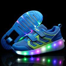 New Children Roller Skate Shoes Boys Girls Light Sneakers With Wheel