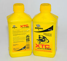 BARDAHL Olio moto 4 tempi XTC C60 SCOOTER 5W40 1lt formula PolarPlus Fullerene