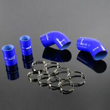 Fit For Chevrolet Gmc 66l Duramax Lly 04 05 Silicone Intercooler Boot Hose Blue Fits Chevrolet