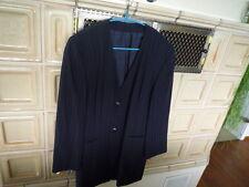 Betty Barklay Kostüm dunkelblau Langjacke Nadelstreifen Gr. 42  WIE NEU