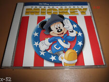 Disney YANKEE DOODLE MICKEY mouse CD Star Spangled Banner God Bless America RARE