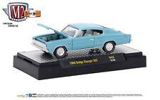 1:64 M2 Machines Detroit Muscle R42 = Blue 1966 Dodge Charger 383 NIB!