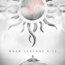GODSMACK CD - WHEN LEGENDS RISE (2018) - NEW UNOPENED - ROCK