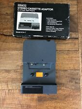 Vintage Kraco Stereo Cassette Adaptor For 8-Track Tape Players KCA-7 IOB.