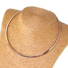 Fashion Rose Gold Women's Choker Necklace Stainless Steel Jewelry 3mm Top Design