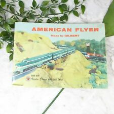 Vintage AMERICAN FLYER Northern Pacific Railway Catalog Book by Gilbert