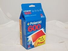 Three Pack of Polaroid 600 Instant Print Film. New Unopened. Exp. date Dec. 2004