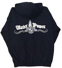 City of Los Angeles DWP Zip Up Sweatshirt Hoodie  Navy 3XL