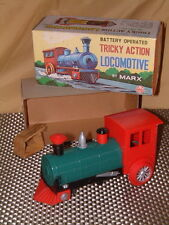 MARX NOS B/O TRICKEY ACTION LOCOMOTIVE IN ORIGINAL BOX & WORKING! SEE NEW VIDEO!