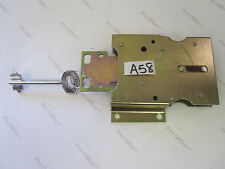 BRASS PLATED STEEL Mounted Latch  & Skeleton Key