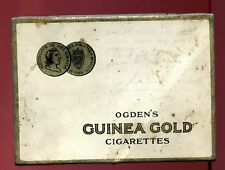 VINTAGE - GUINEA GOLD-  CIGARETTES - IMPERIAL TOBACCO - CANADA - Flat 50 TIN/CAN
