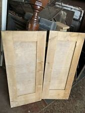 A pair of cupboard doors Victorian