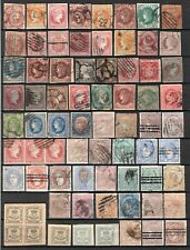 Spain 1850-1875 Classics 114 Stamps Used. See Scans!