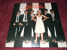 """Blondie Parallel Lines 1978 Orig. """"One Way Or Another"""" """"Heart Of Glass"""" EX"""