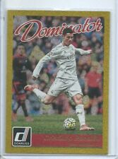 2016-17 DONRUSS GOLD DOMINATOR INSERT CHRISTIANO RONALDO # NO. 22 REAL MADRID