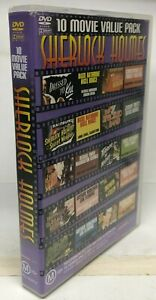 Sherlock Holmes - 10 Movie on 4 DVD Set - AusPost with Tracking