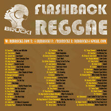Dj Brucki Flashback Reggae Mix CD