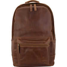Fossil Men's Ledger Leather Backpack, Cognac, One Size MBG9242222